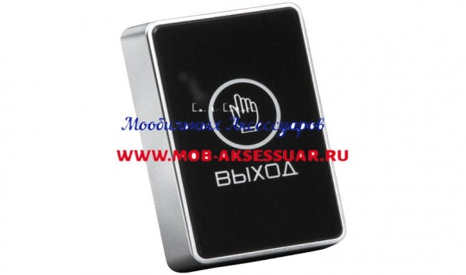 """Сенсорная кнопка Optimus """"Выход"""" – NO/NC"""