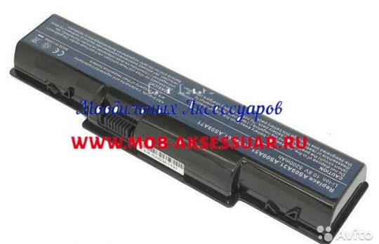 Аккумулятор для Acer Aspire 2930, 4310, 4315, 4336, 4520, 4710, 4720, 5535, 5732, 5735, 5740, eMachines E525, E627, (AS07A41), 4400mAh, 11.1V, OEM